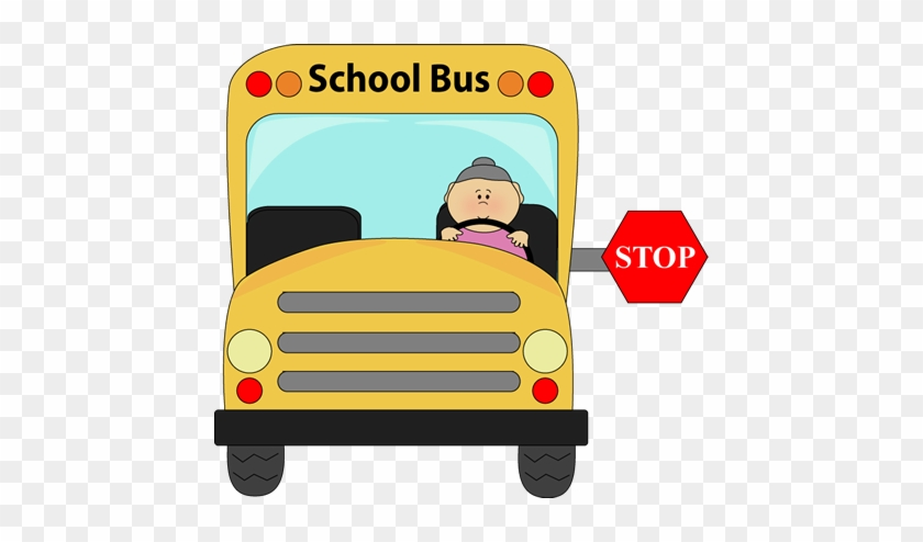 Yellow School Bus For Guided Drawing Lesson - Bus Driver Thank You Card #442927