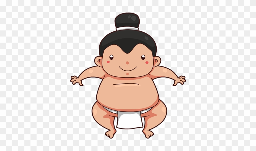 Wrestling Clip Art Cute Sumo Wrestler Cartoon Free Transparent Png Clipart Images Download
