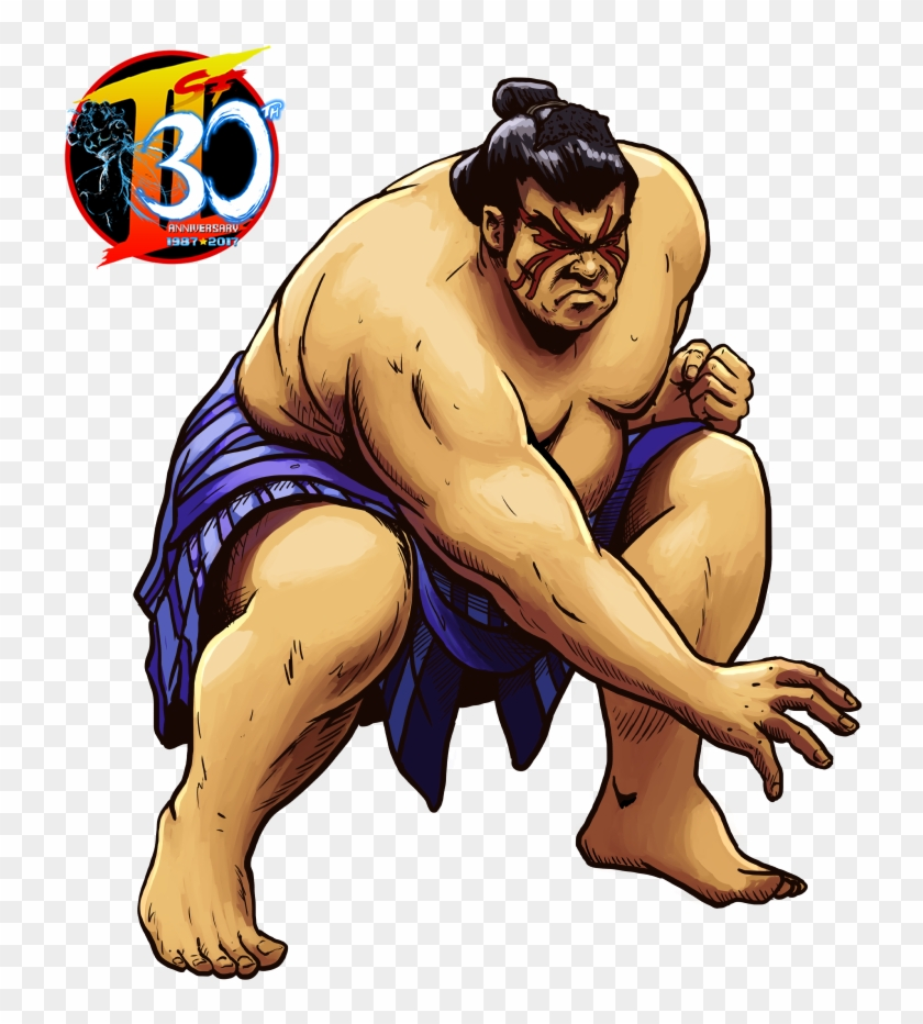 Our Street Fighter 30th Tribute - Street Fighter Sumo Wrestler #443590
