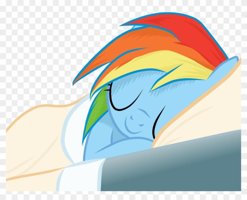 Sleeping rainbow
