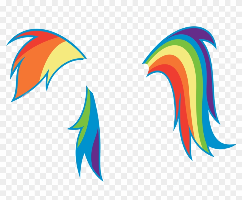 Rainbow Dash Mane Tail By Minty The Art Fox - Rainbow Dash