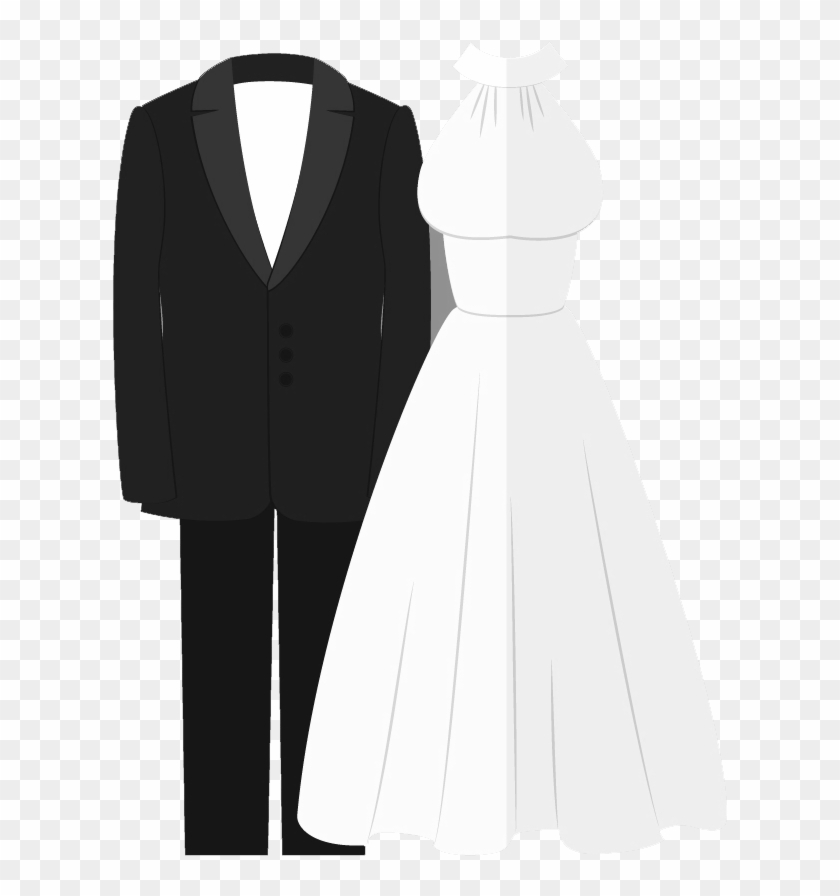 Beauty And Salons - Tuxedo & Gown Wedding Invitation - Free ...
