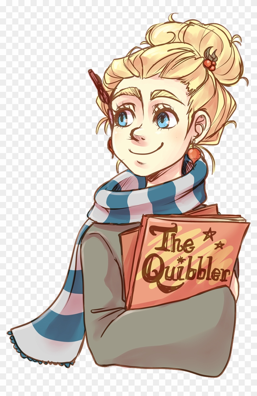 Annikartika - Luna Lovegood Harry Potter Drawings #443944