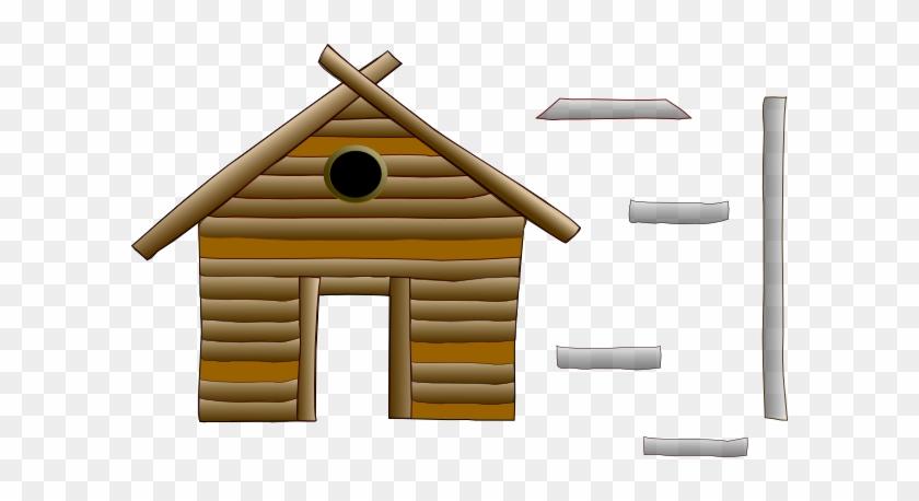 Cabin Broken Clip Art