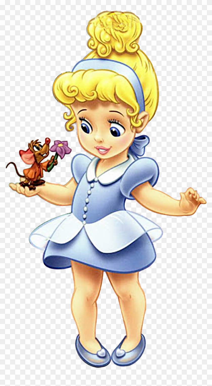 Baby Disney, Clip Art, Cinderella, Disney Princesses, - Princesas ...