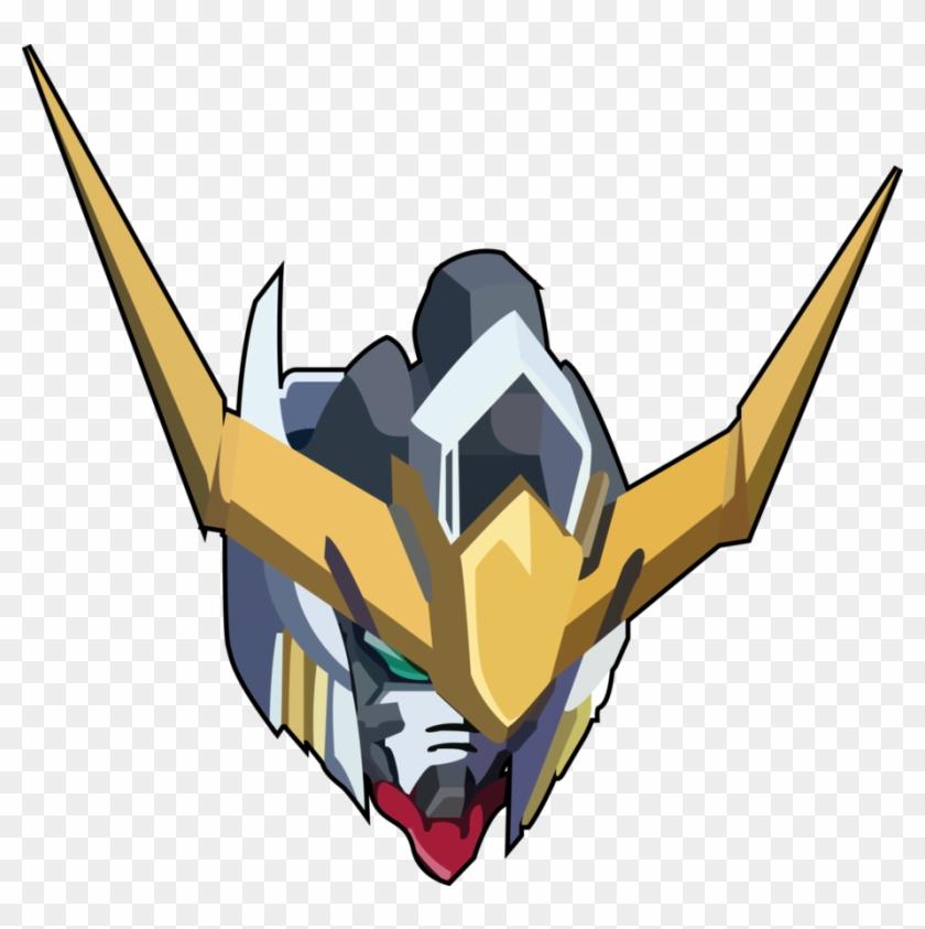 Barbatos By Spartangz Gundam Barbatos Head Png Free Transparent