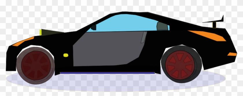 Car Nissan Medium 600pixel Clipart, Vector Clip Art - Auto Clipart #445280
