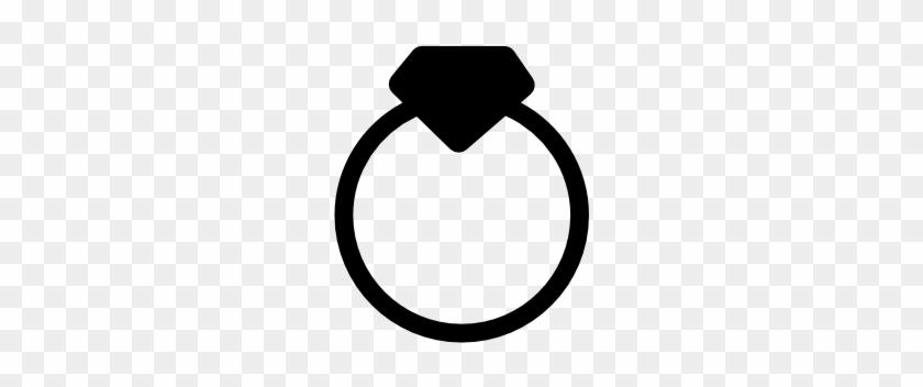 Diamond Ring Icon - Ring Size #445345