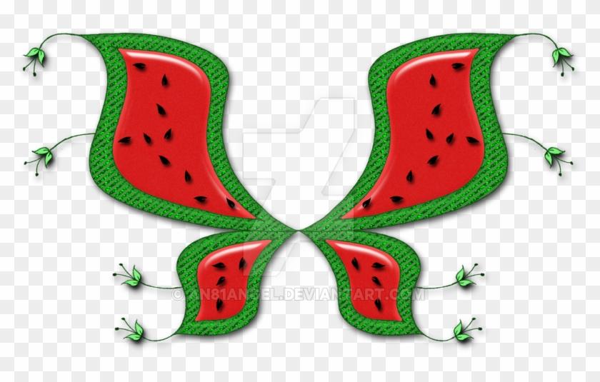 Watermelon Fairy Wings By An81angel - Watermelon Fairy Wings #445487