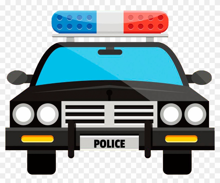 Police Car Cartoon - Cartoon Police Car #445992