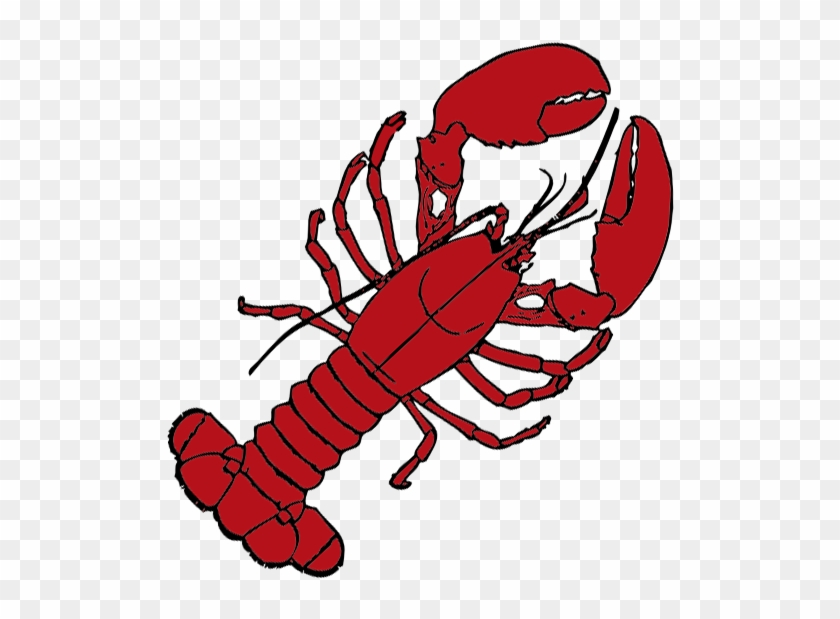 Drawn Lobster Transparent - Red Lobster Throw Blanket #446236