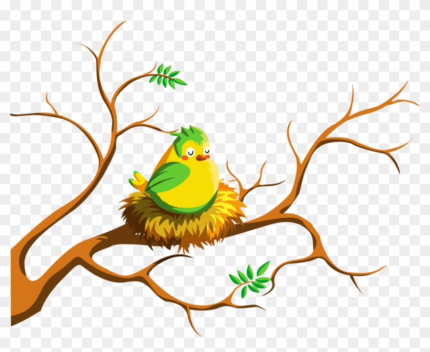 For As Long As I Have Known My Husband, Almost 47 Years, - Birds At Nest Vector #446250
