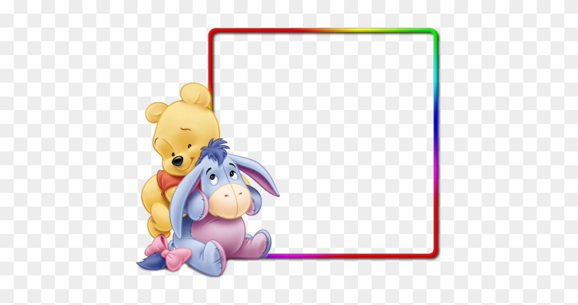 Disney Photo Frame Png - Winnie The Pooh Baby Shower Thank You Cards ...