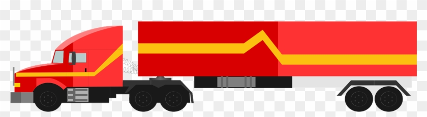 18 Wheeler Truck Png #447247