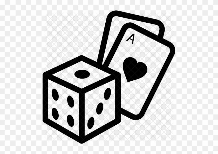 Dice Icon - Casino #447338