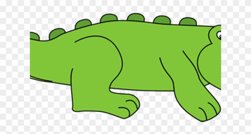 Alligator Clip Art - Zoo Phonics Alphabet Cards #447459