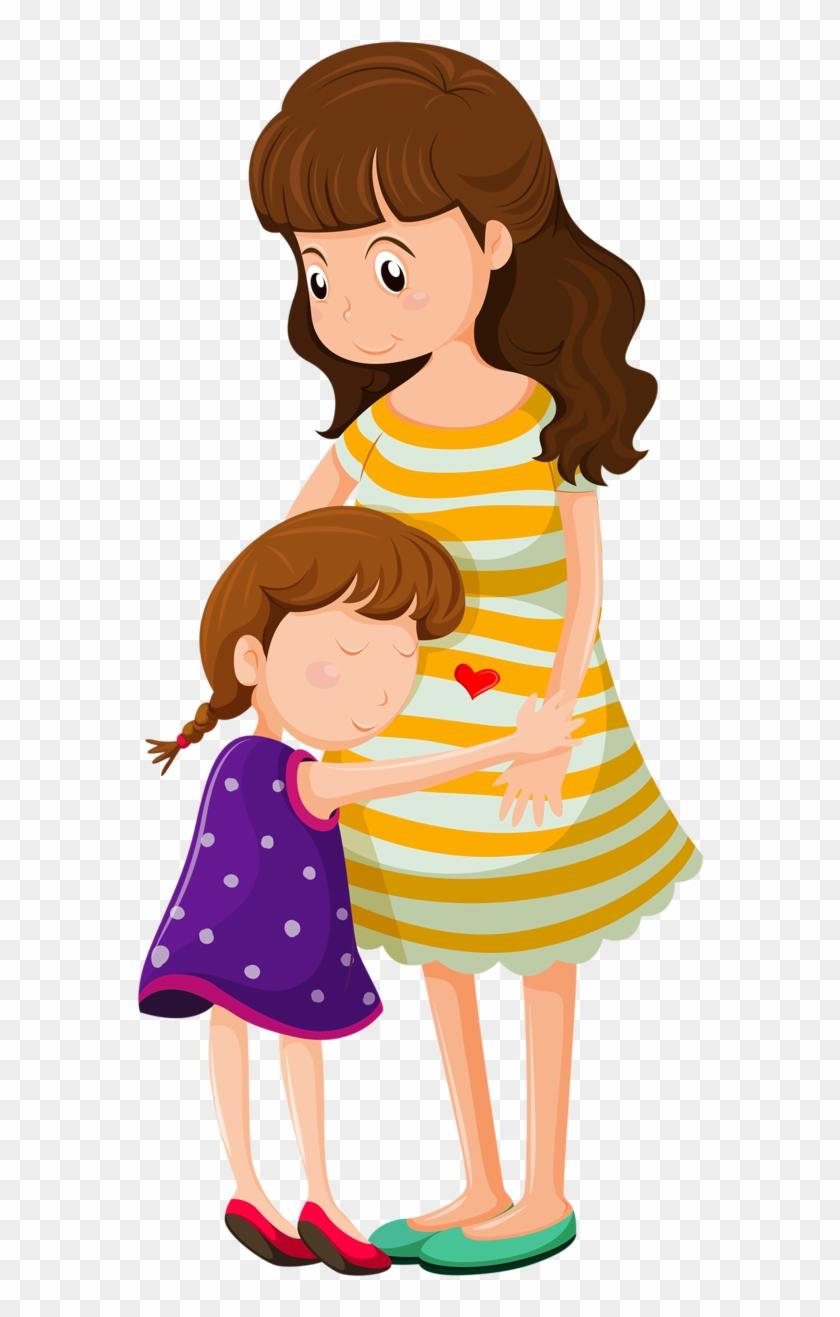 Фото, Автор Soloveika На Яндекс - Mama Abrazando A Su Hija Animado #448056