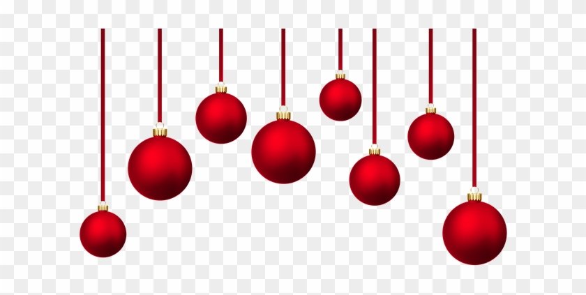 Christmas Baubles, Background Christmas Balls, Holidays - Red Christmas Ball Background #448261