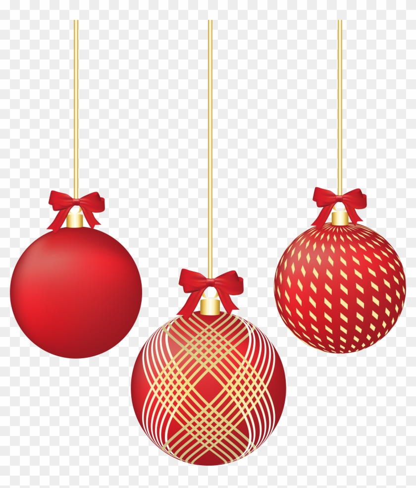 Red Christmas Decorations Png