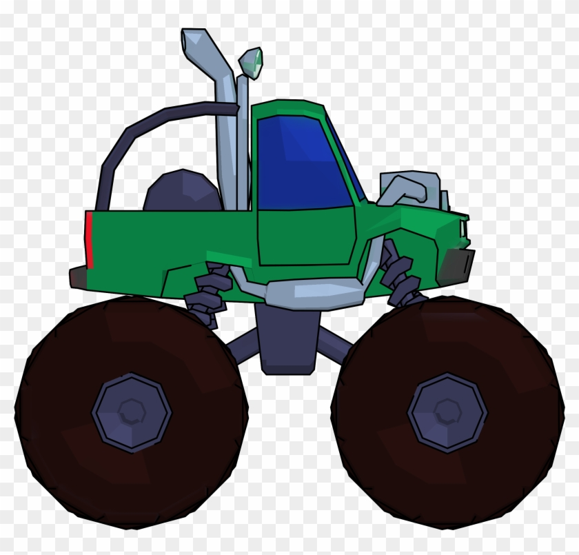 Monster Truck Cartoon Png Clipart Picture Side View Cartoon Monster Truck Png Free Transparent Png Clipart Images Download