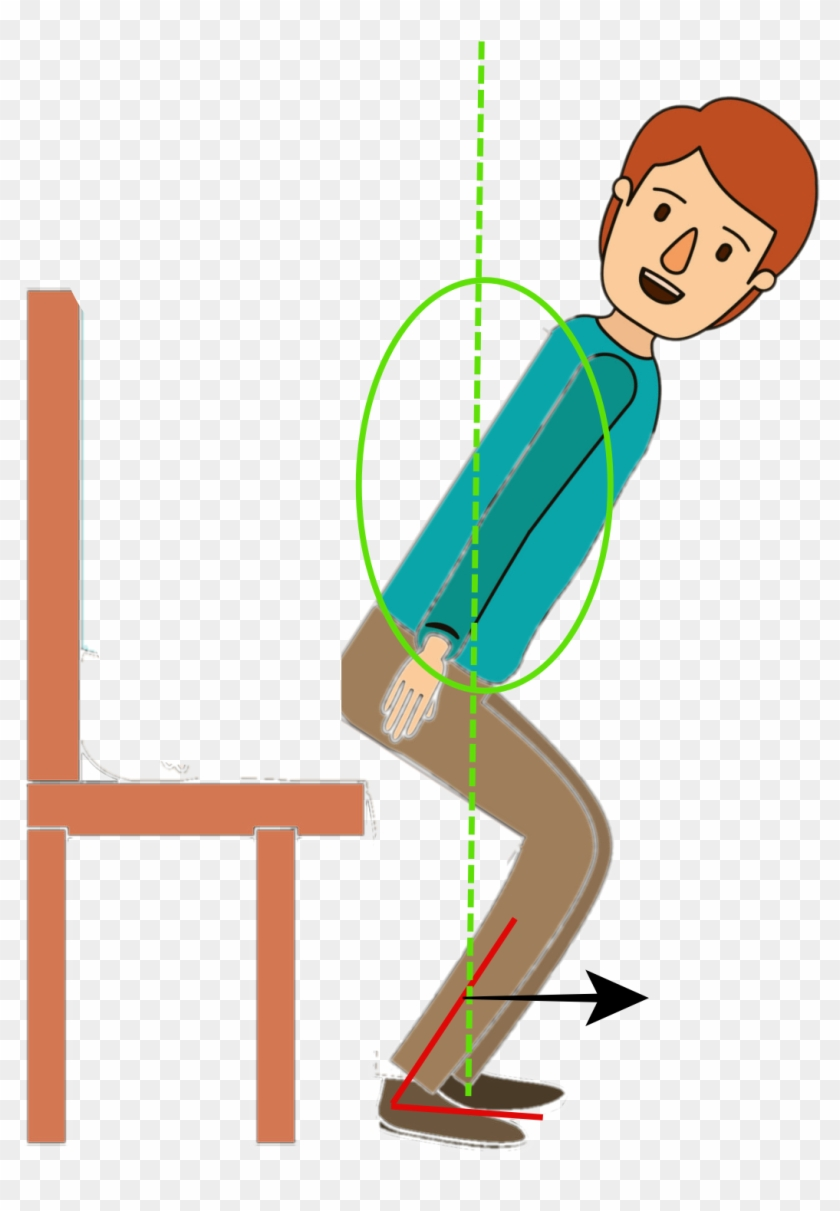 Sit To Stand Is Difficult Because The Ankle Muscles Cartoon Free Transparent Png Clipart Images Download