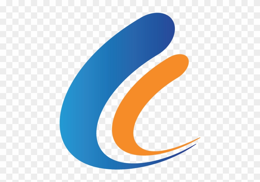 Divider-swoop - Blue And Orange Line Divider Png #449346