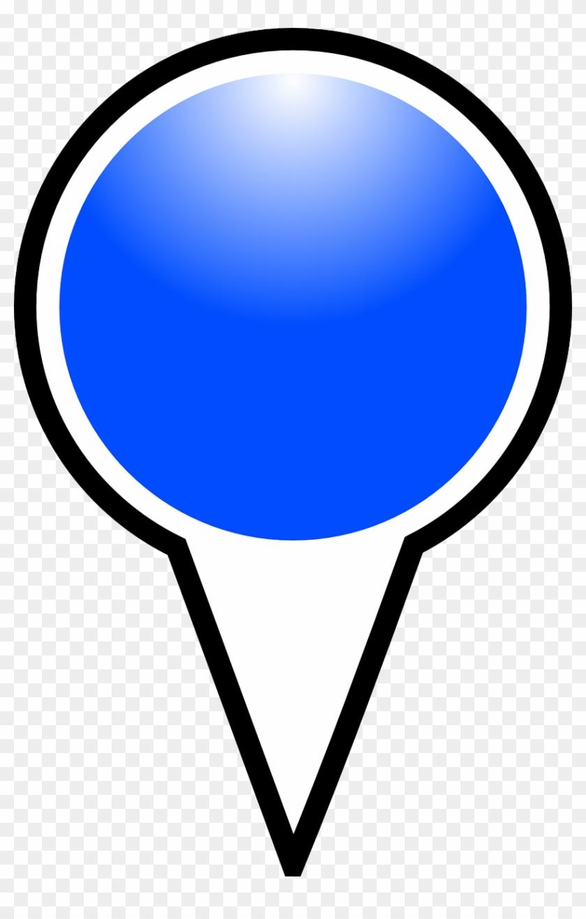 Push Pin Clip 27, Buy Clip Art - Bing Maps Pushpin Icons #449507
