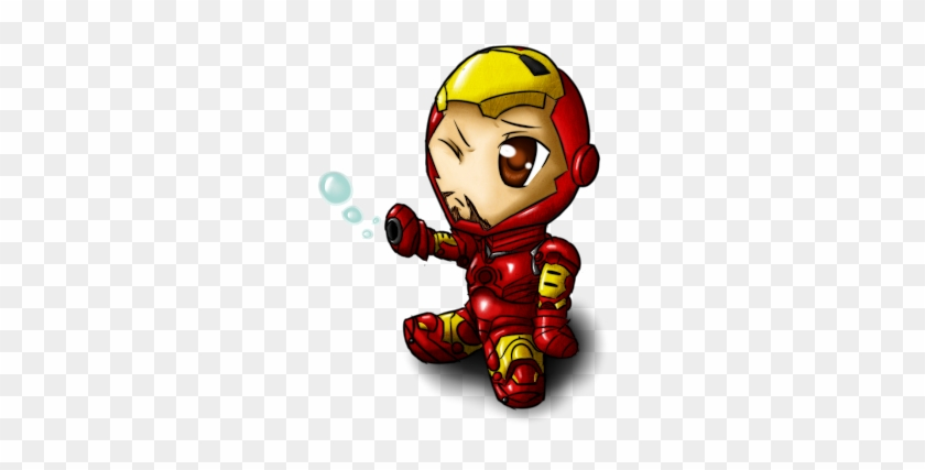 Finally I Decided To Draw Ironman For The Album The - Iron Man Cute Cartoon #449638