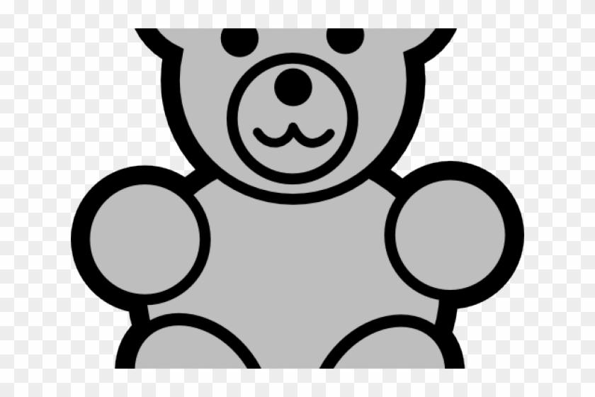 Gummy Bear Clipart Grey Bear Teddy Bear Drawing Easy Free
