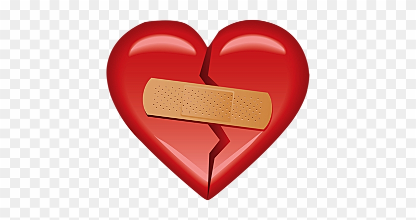 Fancy Clipart Bandaid Psd Detail Heart With Bandaid - Heart With Bandaid #449686
