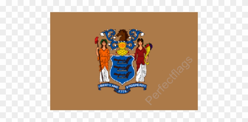 New Jersey Flag - New Jersey State Flag #449854