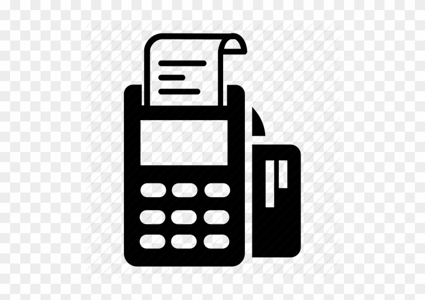 Using Credit Card For Emergency Loan - Credit Card Terminal Icon