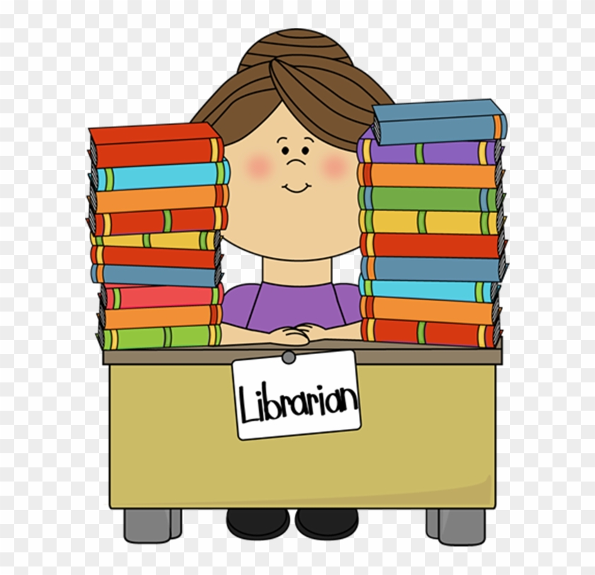 Friday - Library - Librarian Clipart #450223