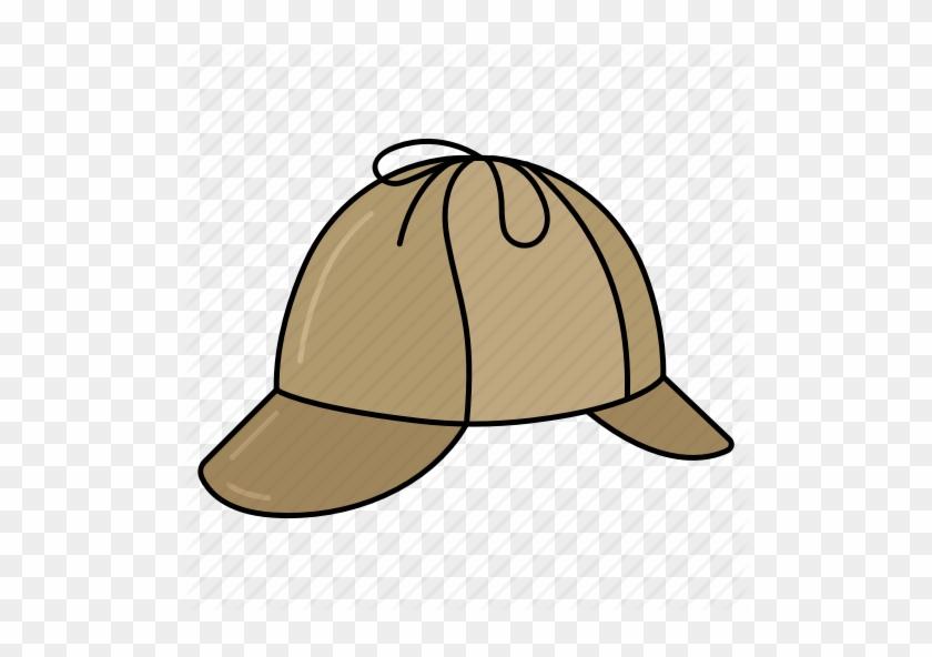 Detective, Investigation, Magnifier, Police Agent, - Detective Hat Png #450791