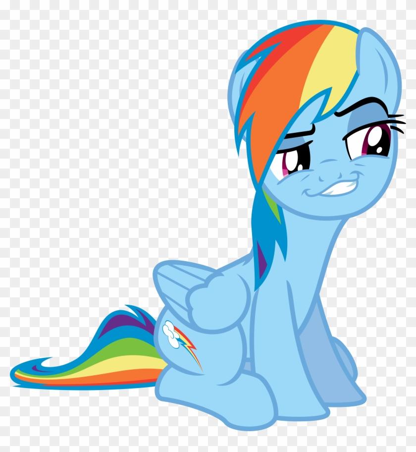 Rainbow Dash Best Smile By Jeatz-axl - Mlp Rainbow Dash Smile #450831