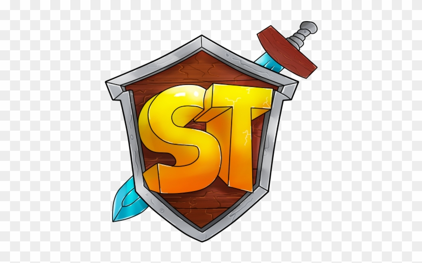 Drawn Shield Minecraft Minecraft Server Logo Shield Free