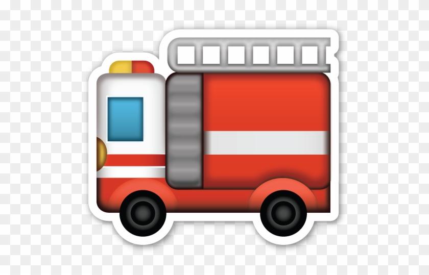 Fire Engine - Fire Truck Emoji Png #451609