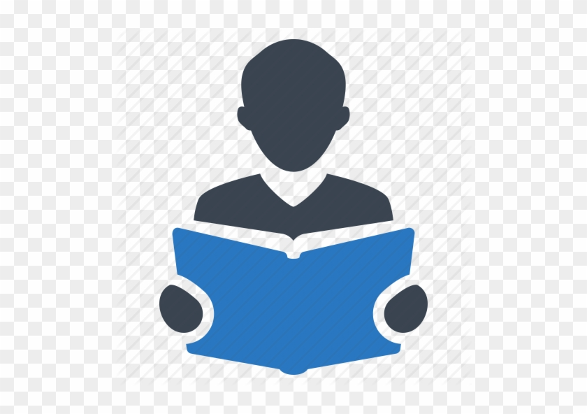 Library Clipart Student Learning - Reading Book Logo Png #451634