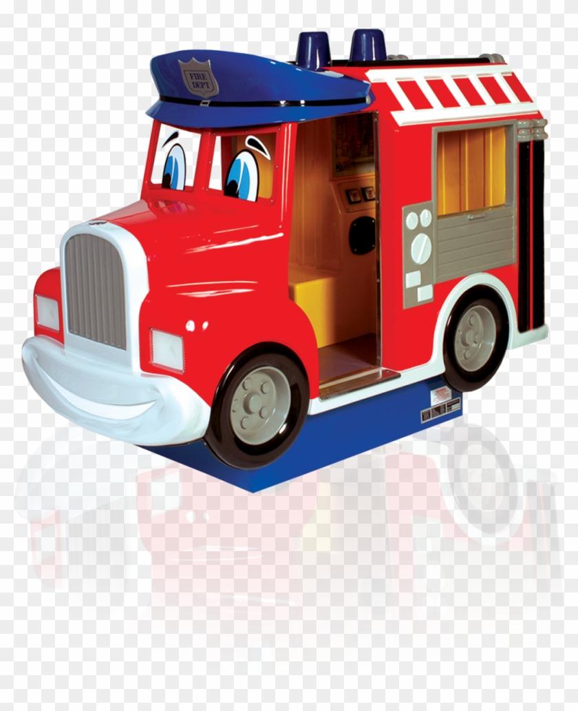 Fred Fire Truck - Fred's Fire Truck Kiddie Ride #451717