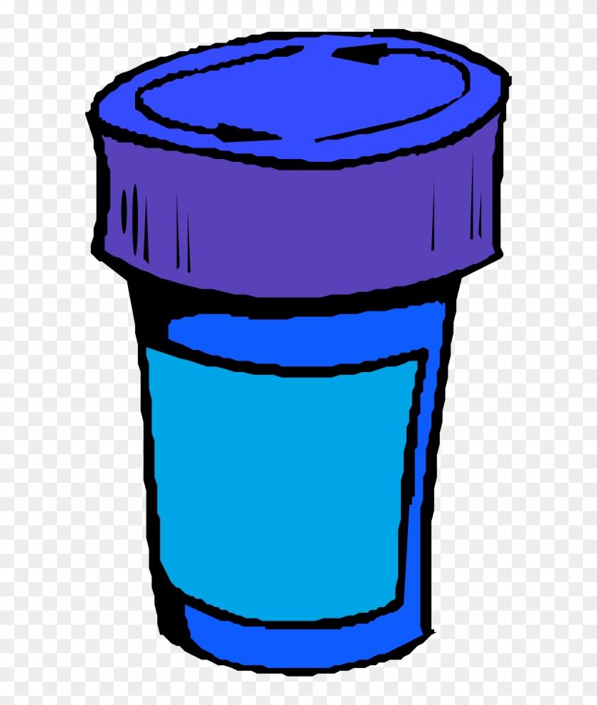 A Bottle For Pills - Pill Bottle Clip Art #451718