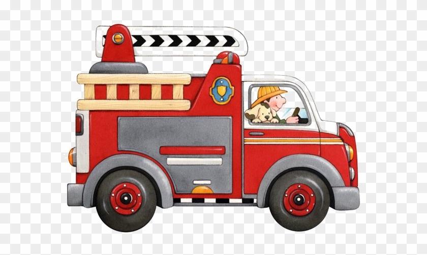 Camion Pompier Dessin Couleur Free Transparent Png Clipart Images
