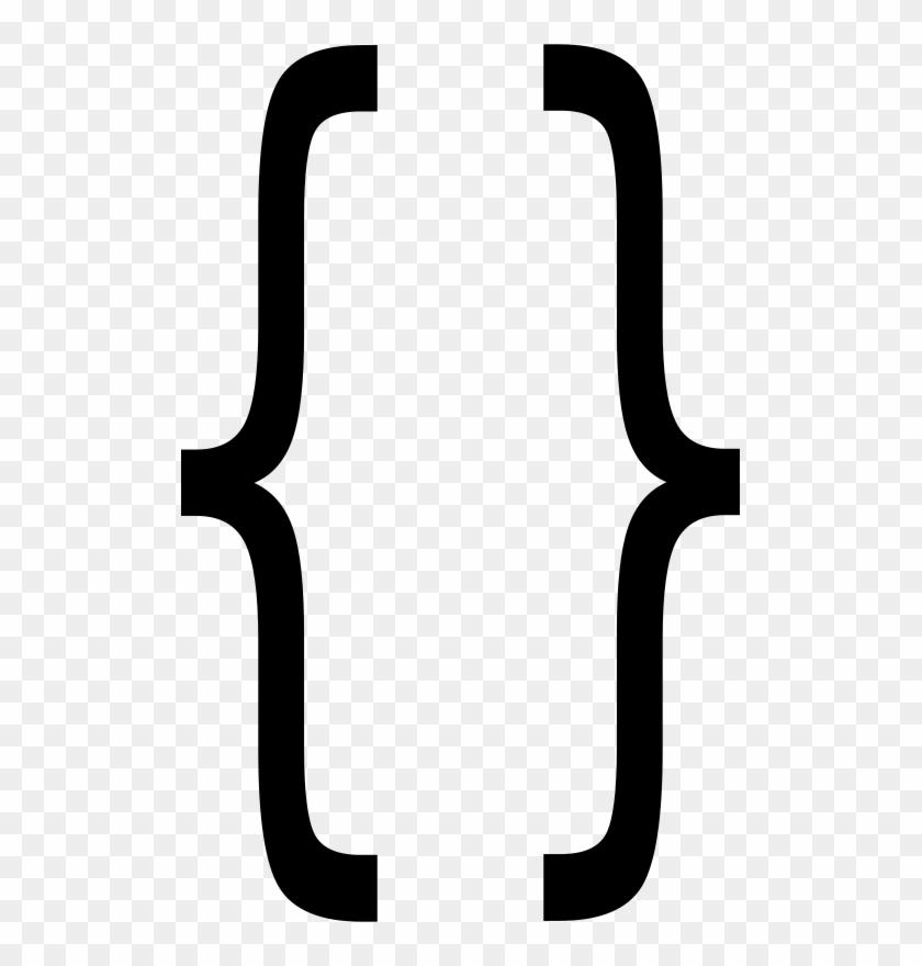 Free Large Braces - Large Brackets #451860