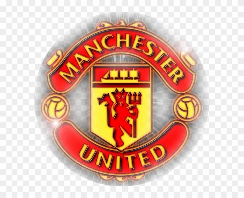 Manchester United Icon - Escudo Manchester United Flat Hd #452431