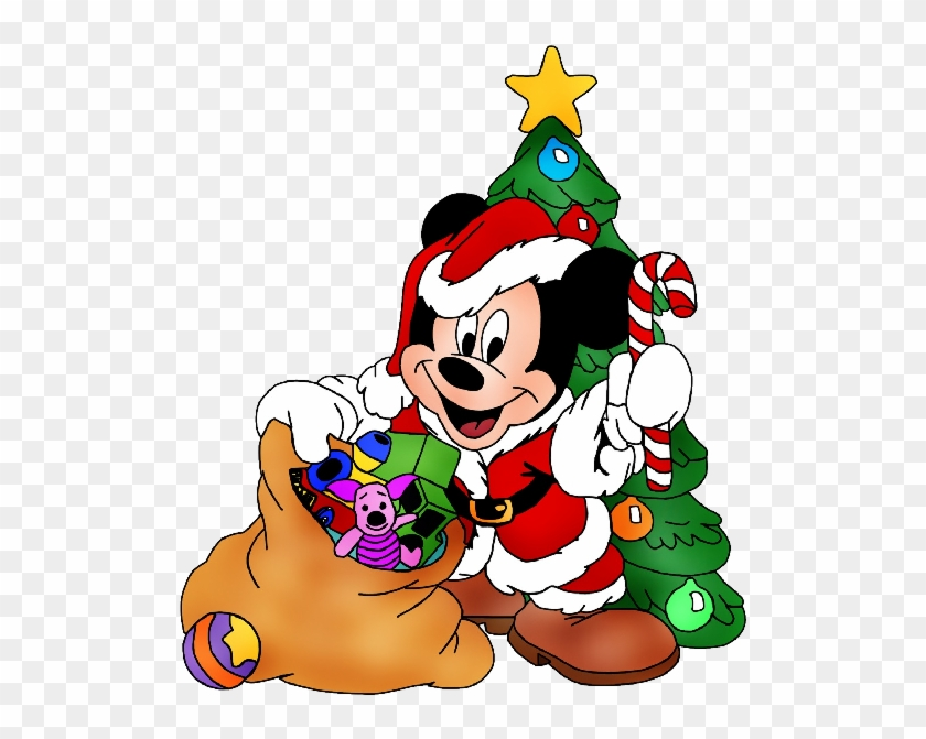 Mickey Mouse Xmas Clipart 15 Png X0kjdc Clipart - Mickey Mouse Christmas Tree Cartoon #452628