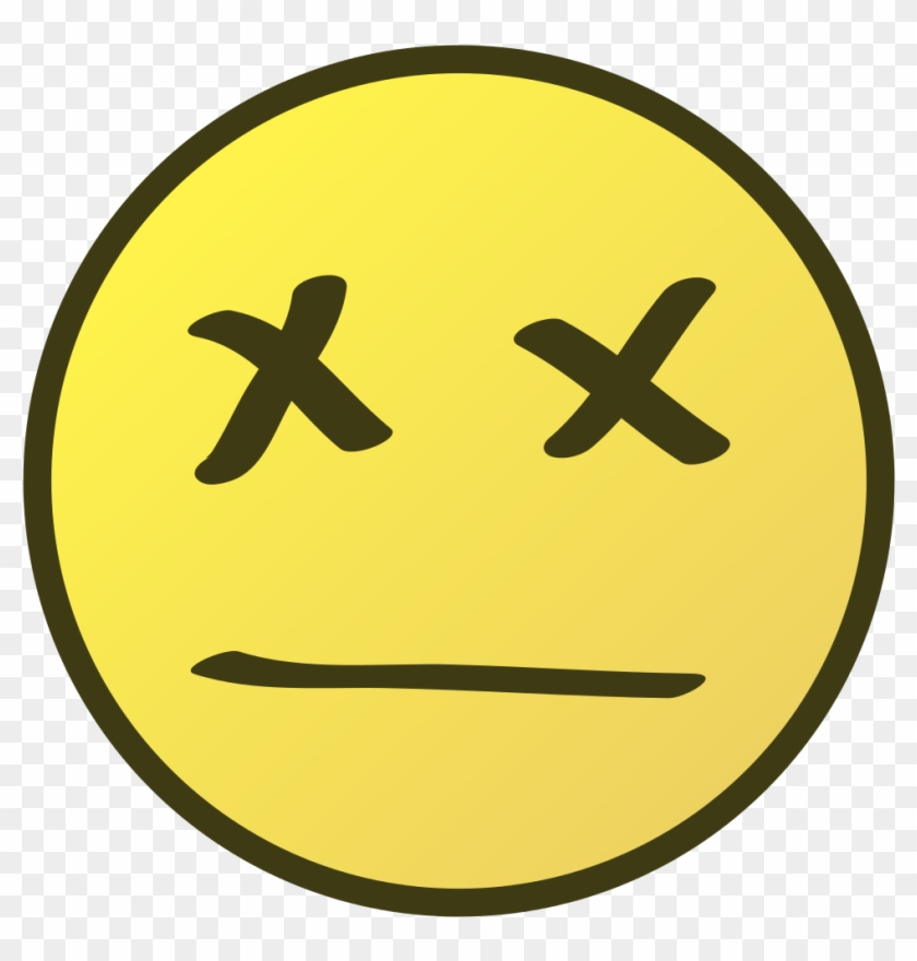 Dead Smile Clipart - Comment Smiley Face Icon #452650