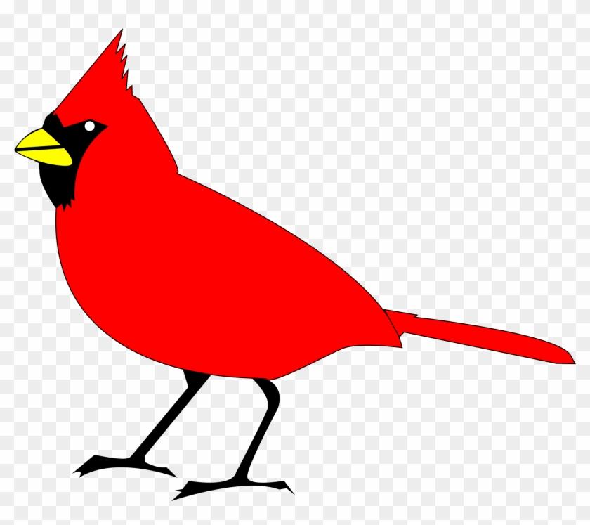 Cardinal Remix 2 - Bird Clip Art #452953