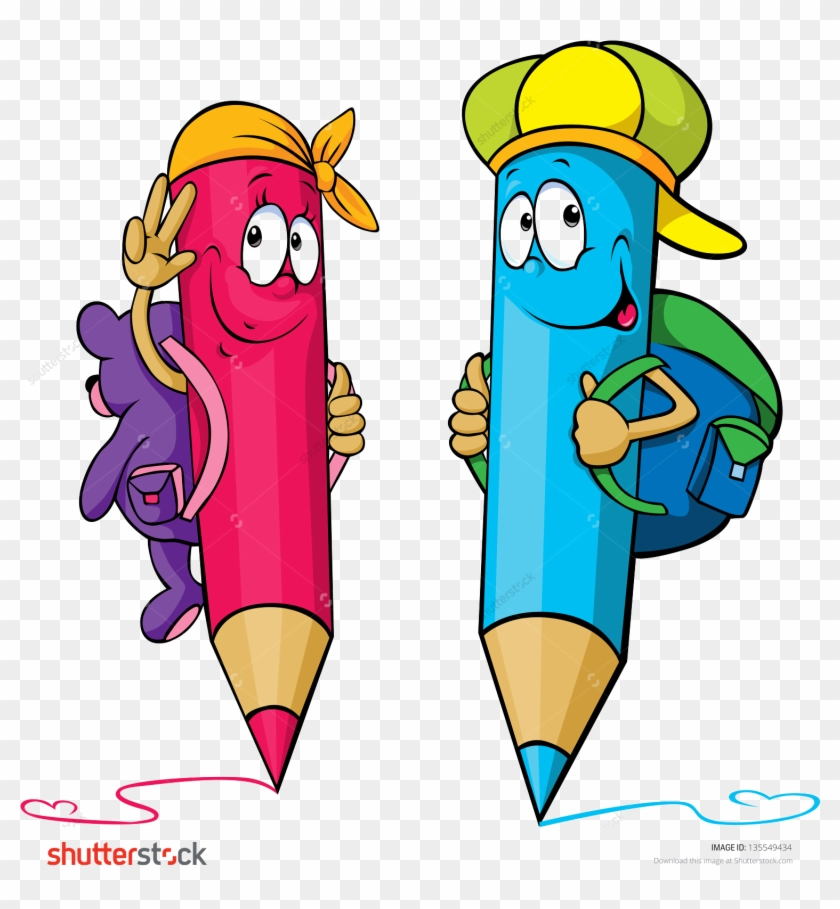 School Coloring Books Pencil Cartoon - My First Activity Book ...