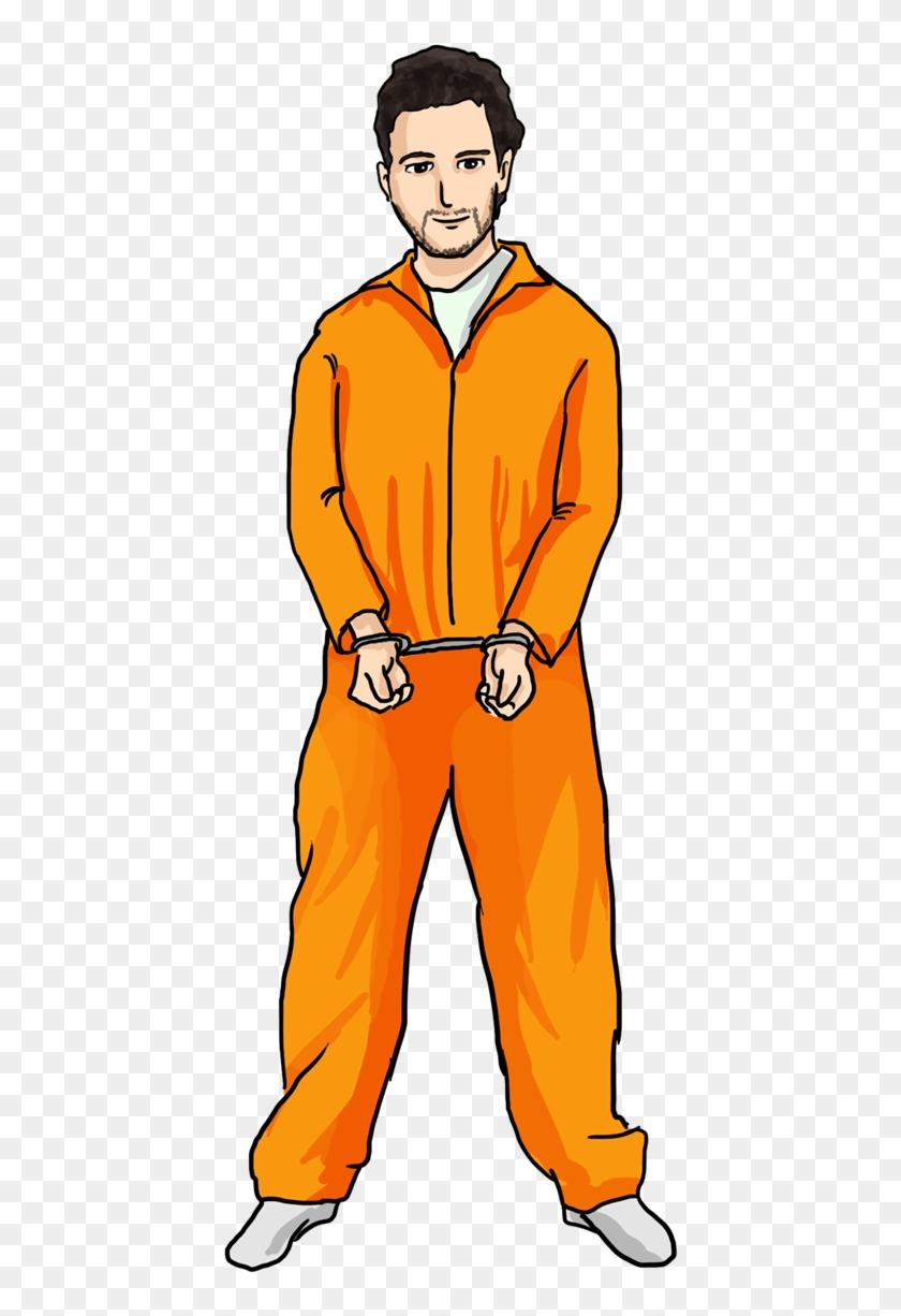 Prisoner - Clipart - Prisoner Clipart Png #453279