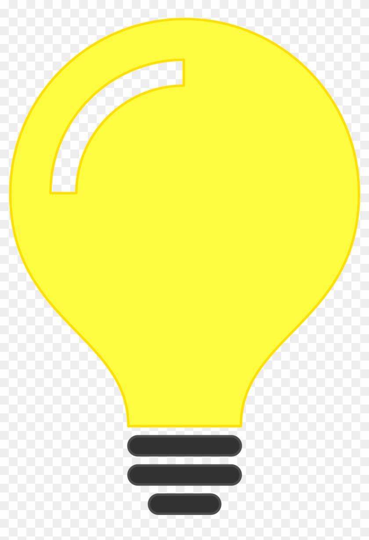 Bulb Idea Icon - Minimalist Light Bulb Png #453346
