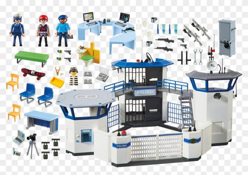 Http - //media - Playmobil - Com/i/playmobil/6872 Product - Playmobil 6872 Police Command Center With Prison #453452